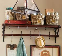 entryway rack french cafe entryway rack pottery barn