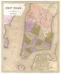 File Map Of New York File 1839 Bradford Map Of New York City New York Geographicus