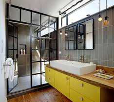 How To Clean A Farmhouse by Houzz Modern Farmhouse Kitchen How To Clean A Glass Shower Door