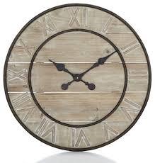 Horloge Murale Ronde Blanche Avec Pendule De Salle De Bain Pendule De Salle De Bain With Pendule