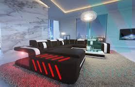 magasins de canapé nativo magasin de meubles canapé d angle en cuir design