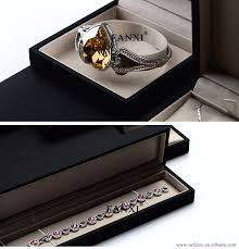 necklace boxes images Fanxi custom leatherette paper jewellery packaging boxes with silk jpg