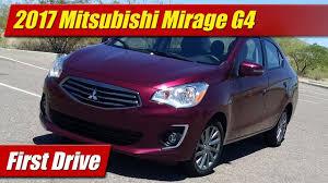 mirage mitsubishi price 2017 mitsubishi mirage g4 first drive youtube