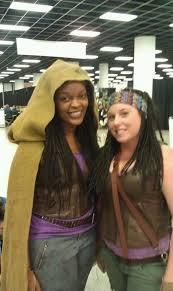 Walking Dead Costumes Halloween 25 Michonne Costume Ideas Katana Paracord