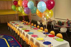 beautiful table decoration for a kids birthday party how to make