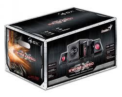 genius sw 5 1 home theater genius 4 piece sw g2 1 1250 38w gaming speakers walmart com