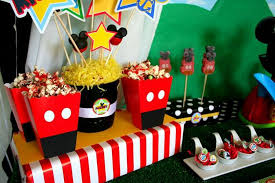 mickey mouse party decorations mickey mouse clubhouse party decorations ideas for kids