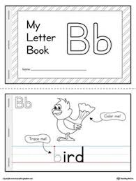 letter b mini book printable worksheets activities and alphabet