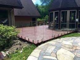 Glass Patio Fencing Glass Pool Fencing U0026 Q Railing Installation Ct U0026 Ny Us Glass Fence