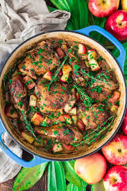 poulet cuisine poulet vallée d auge chicken with apples s cuisine