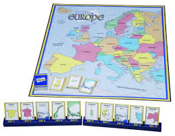 European Map Game by 10 Days In Europe Game Amazon Co Uk Toys U0026 Games