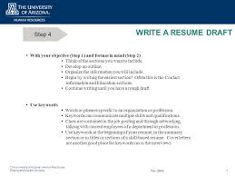 Draft Resume What Is A Resume What Is Not A Resume Ppt Download