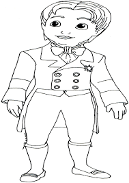 12 sofia the first james coloring pages cartoons printable