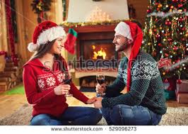 happy family on christmas opening gifts stock photo 530510515