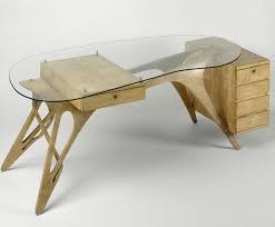 bureau en bois design bureau bois design great bureau scandinave petit format aux
