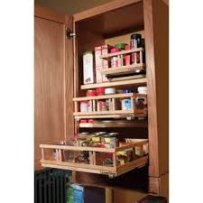Rubbermaid Spice Rack Pull Down Cabinet Pull Out Spice Rack Wayfair