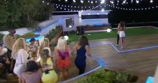 is sports fan island legit love island fan claims this is the moment jessica asks mike for