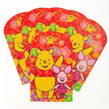 pocket new year disney winnie the pooh new year envelopes bling pocket