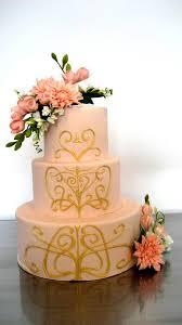 art nouveau wedding cake idea in 2017 bella wedding