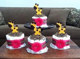 giraffe baby shower decorations items similar to giraffe hot pink cake baby shower