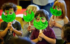 passover plague masks petaluma preschool holds pre passover seder