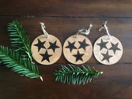 Of Tennessee Ornaments Items Similar To Set Of 3 Wood Ornaments Tennessee