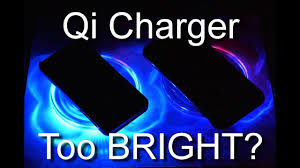 qi charger too bright how to dim those leds youtube
