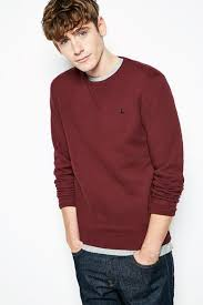 cost effective jack wills bridford sweatshirt men damson zero profit