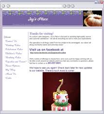 wedding cake websites s place home