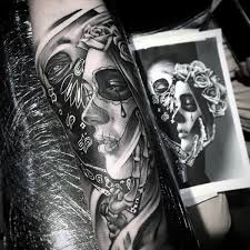 73 impressive day of the dead tattoos and ideas look great on skin
