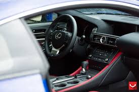 lexus rc f modified lexus rc f on vossen vfs 2 vossen wheels 2015 1007 vossen