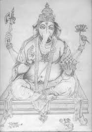 tanmay singh lord ganesha drawings drawing paper pencil