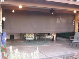 Drop Down Blinds Roll Down Patio Shades Aaa Sun Control