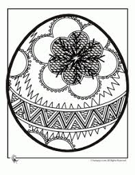 intricate easter egg coloring pages holidays easter and holy