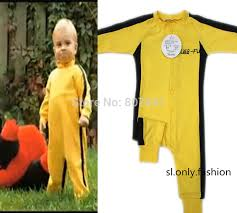 bruce yellow jumpsuit bruce baby rompers yellow kid boy cotton jumpsuit in