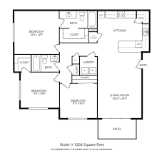 apartment square footage floor plans ico mayfield
