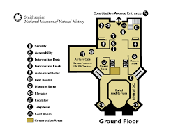 floor map smithsonian national museum natural history