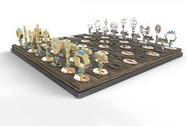 theme chess sets key chess set by reagan ganis at coroflot com