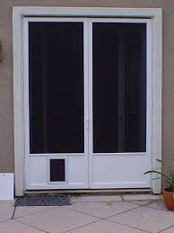 Patio Door With Pet Door Built In Petsafe Patio Panel Large Door With Pet Built In Jeld Wen Sliding