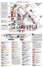 University Of Arizona Parking Map by Transit Parking And Transportation Radford University