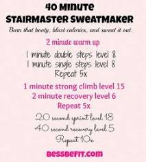 best 20 stair stepper workout ideas on pinterest stepper