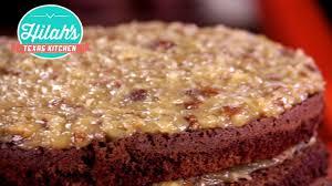 german chocolate cake hilah u0027s texas kitchen youtube