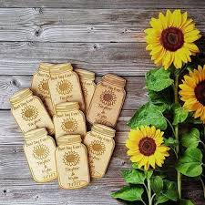 sunflower wedding favors shop sunflower wedding favors on wanelo