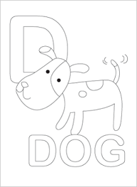 alphabet coloring pages printables