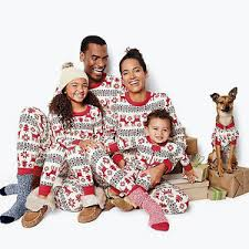 family matching pajamas sleepwear