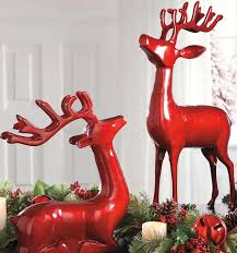 Outdoor Christmas Decorations Deer by 80 Best Outdoor Christmas Decor Images On Pinterest Christmas