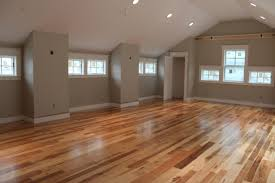 Hardwood Floors Vs Laminate Floors Hickory Engineered Wood Floors And White Kitchen Cabinets