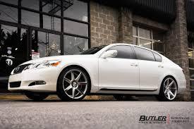lexus vossen lexus gs with 20in vossen cv7 wheels exclusively from butler tires