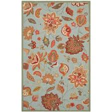 Teal Outdoor Rug Teal 5 X 8 Outdoor Rugs Rugs The Home Depot