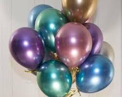 metallic balloons metallic balloons etsy